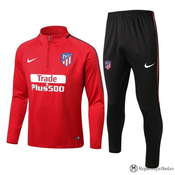 Chandal Atletico Madrid 2017/2018 Rojo Replicas Futbol